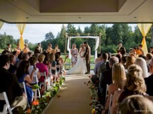 Wedding Ceremony Area, The Plateau Club, Sammamish