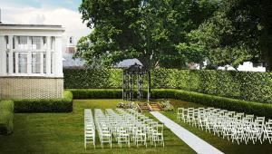 Event Rentals Starting At $4000, Separk Mansion, Gastonia — Formal garden