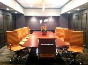 Boardroom, The Hills Hotel, Laguna Hills