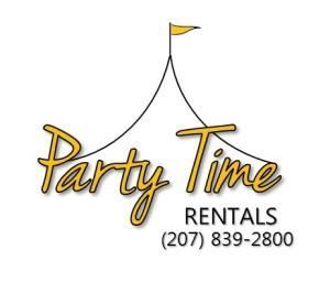 Party Time Rentals, Gorham — Party Time Rentals is your one stop shop for all things event related.  From the tent to the lights to the tables and linens and everything in between.  We also offer day of event coordination and full service event planning.  Call us for your next event and let Party Time take the stress out of your big day!