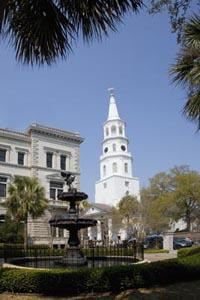 The Beautiful Fountain in Charleston South Carolina