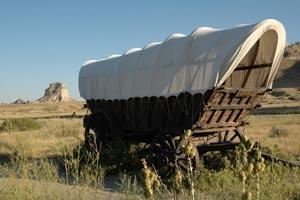 The Traditional Pioneer's Wagon in Nebraska