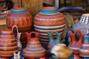 The Colorful Pottery of New Mexico