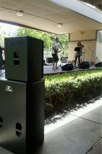 Small full band audio package, DPH Sound and Lighting, Antioch