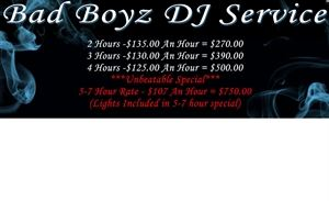 The Best Deal, Bad Boyz DJ Service, Montrose