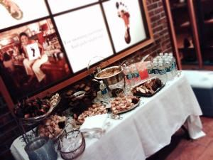 Vanishing Gourmet Catering, Nashville — Dessert Reception, Green Hill Mall, Clarke Shoes