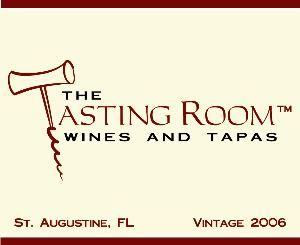 The Tasting Room, Wines and Tapas, Saint Augustine