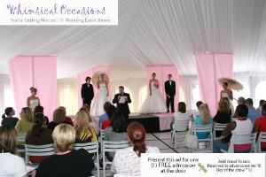 Whimsical Occassions, Birmingham — Be a part of the fun and excitement. Join Michigan's newly developed Wedding Event Shows. Whimsical Occasions sponsored by THE KNOT, Metro Detroit Bride and the Perfect Wedding Guide is sure to be Michigan's most respected and well-known Bridal Event Show host.  Whimsical Occasions will promote many elegant and trendy event shows throughout the Detroit Metro area
