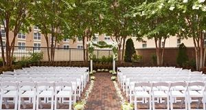 A Silver Wedding Package, Hilton Alexandria Old Town, Alexandria
