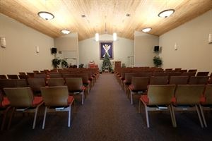 Main Hall / Sanctuary, Unitarian Universalist Church of Pensacola, Pensacola