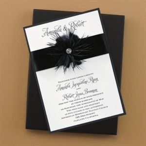 All Occasions Invitations, Chandler — Fanciful Feathers www.kb.carlsoncraft.com