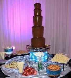 Austin Chocolate Occasions Chocolate Fountain, Cupcake Station & Candy Bar Buffet Catering
