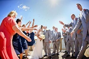 Wedding Ceremony Site, Infinity and Ovation Yacht Charters, Saint Clair Shores — Wedding Party