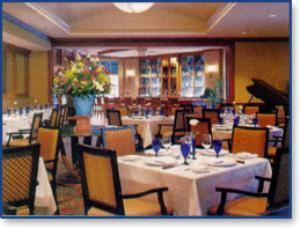 Seagar's Restaurant & Piano Bar, Hilton Alexandria Old Town, Alexandria — Seagar's renowned restaurant, located just off the main lobby, offers breakfast, lunch and dinner. The finest cuisine and Seagar's signature award winning service combine to create an unsurpassed dining experience.