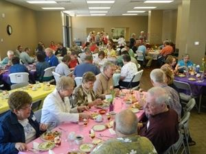 Community Room, The Sioux Falls Ministry Center, Sioux Falls — The Sioux Falls Ministry Center Community Room is a great spot for your next birthday party, reunion or business luncheon.