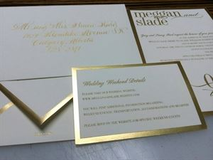 Calligraphy and Engraving by Shelly