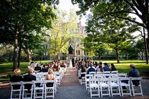 Wedding Package - Outdoor Ceremony Only, Perelman Quadrangle, Philadelphia