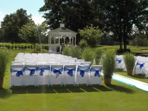Wedding Area, Mays Landing Golf & Country Club, Mays Landing — With our picturesque wedding garden and gazebo, Mays Landing Golf & Country Club will make a memorable impression on your special day.