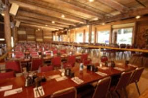 Longhouse Main Dining Room, Tillicum Village, Seattle