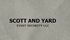 Scott and Yard Event Security, LLC, New York