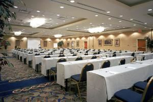 Grand Ballroom, Crowne Plaza Dulles Airport, Herndon — A classroom style meeting in Grand Ballroom.