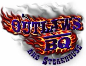 Outlaws BarBQ & Steakhouse, Outlaws BarBQ, Sonora — Logo