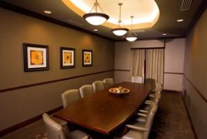 Ambrose Boardroom, Four Points By Sheraton Knoxville Cumberland House Hotel, Knoxville — Ambrose Board Room