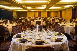 Ballroom, Pala Mesa Resort, Fallbrook — Grand Ballroom  Dinner with rounds