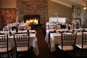 Fireside Room, Pala Mesa Resort, Fallbrook — Holiday Party
