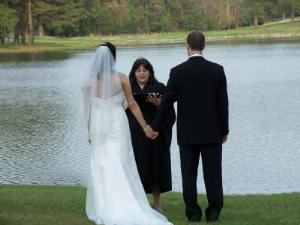 New Conenant Weddings, North Charleston — Performing a romantic lakeside wedding.