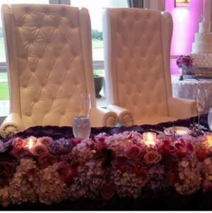 EXCEPTIONAL PARTY RENTAL, Bronx — THRONE CHAIRS and DECOR ITEMS for RENT!