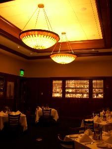 Boardroom/Renaissance Room, McCormick & Schmick's Seafood Restaurant, Downtown Pittsburgh/Piatt Place, Pittsburgh — Accommodates groups of 15 up to a maximum of 45 seated guests dependent upon table configurations. Opens into our Piatt Room to accommodate up to 130 seated guests, as well as a large cocktail reception. Built in screen feature for presentations.