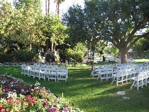 David Aiken Events, Palm Springs — Watwefall Site at La Quinta Resort.