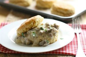 The Presidential Morning Glory, Epik Delights, Houston — Biscuits & Gravy