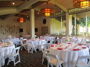 Banquet Room, McCormick Ranch Golf Club, Scottsdale — The Lakeview Room is an ideal location for gatherings up to 100 guests. The Lakeview Room offers a gorgeous view overlooking our lake and golf course.