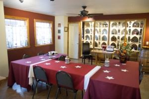 Private Conference Room, Abineau Lodge, Flagstaff — Private conference in the Wine Cellar