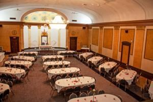 The Sapphire Room Rental Package, The Historic Lodge Event Center, Buffalo