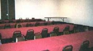 Howard Johnson Inn, Cincinnati — our meeting room is big enough for around 95 to 100 people capacity. we also have a  small space for around 50 guest capacity.Good for weedind group,family re-union,meeting or event.