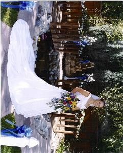 The White House, The White House, Twin Falls — Our pond area of our backyard, beautiful outdoor setting for your wedding