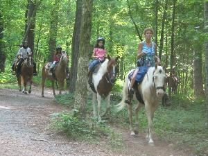 Dead Broke Farm, Raleigh — Dead Broke Farm offers horseback riding to large groups.  We can help you to plan an outdoor corporate outing and any social event to including trail riding, swimming, outdoor grilling, and access to a play area.  Open year-round.