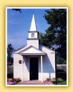 Hardewyk Chapel, Nelis' Dutch Village, Holland — Nice little chapel.  Keep the wedding party small!