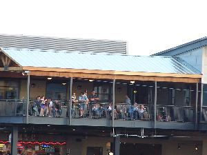 Express Party Deck, Dell Diamond, Round Rock