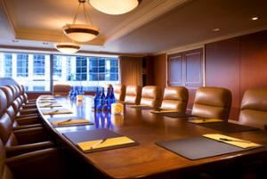 Alki Board Room, Sheraton Seattle Hotel, Seattle — Boardroom