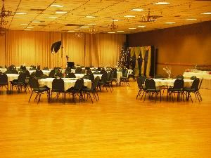 Silver Arena, Hara Arena, Conference & Exhibition Center, Dayton — Capacity: Theater 1,000 / Classroom 1,000, Banquet 800, Dance 700