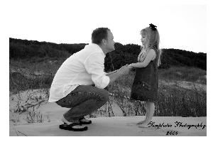 Simplistic Photography, College Station — Family reunion on the beach 2004 (Father & Daughter)