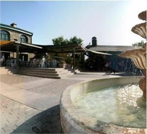 Courtyard, Thornton Winery, Temecula — Centered around the beautiful Fountain Terrace, the Courtyard offers the perfect outdoor setting for any special occasion. Overlooking the vineyards of Temecula Valley Wine Country, this picturesque venue will seat up to 400 people.