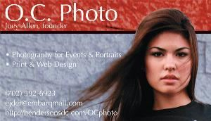 Vegas Photo, Henderson — O.C. Photo is a Henderson based Photography service.  