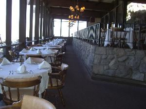Peaks, Palm Springs Aerial Tram, Palm Springs — Peaks restaurant.  A culinary experience above the clouds!