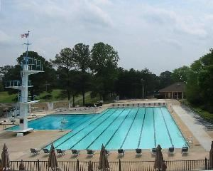 Olympic Size Pool and Cabana, Pinetree Country Club, Kennesaw