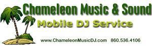 Chameleon Music & Sound, Groton — Chameleon Music & Sound is Southern New England's Premier Owner/Operated Mobile DJ Experience. We bring you more than 10 years of wedding experience and more than 15 years of broadcast/mobile DJ experience making us your obvious entertainment solution. Your event is sure to be tailored to your taste with professional in-person & on-line service from the initial planning meeting to the end of your reception. Contact us to get a free informational packet which includes our highly acclaimed wedding demo CD. Instant On-Line Quotes. Karaoke available. Credit card payments accepted. To listen to the wedding demo right now or for more information check out our website. Fully Insured National Association of Mobile Entertainers Member.